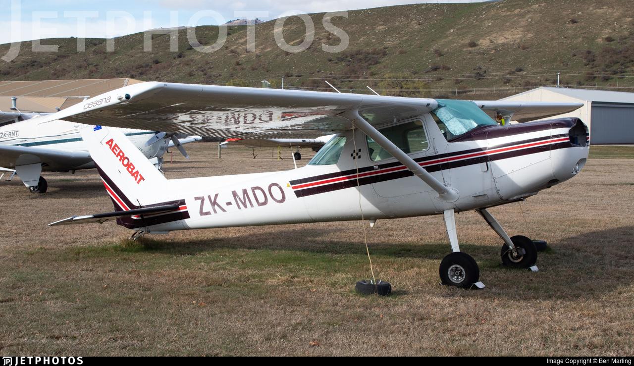 ZK-MDO - Cessna A152 Aerobat - Private