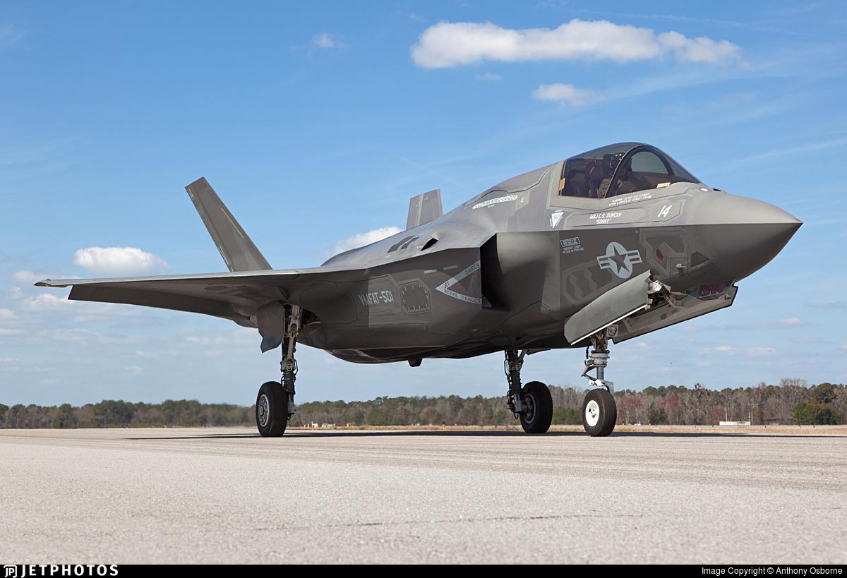 168722 - Lockheed Martin F-35B Lightning II - United States - US Marine Corps (USMC)