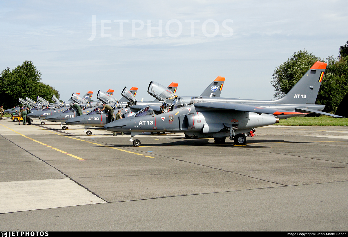 AT13 - Dassault-Breguet-Dornier Alpha Jet E - Belgium - Air Force