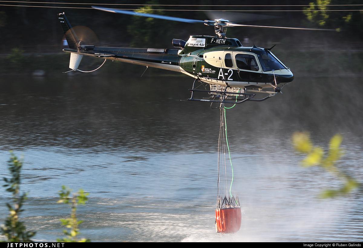 F-HETH - Eurocopter AS 350B3 Ecureuil - Coyot Air