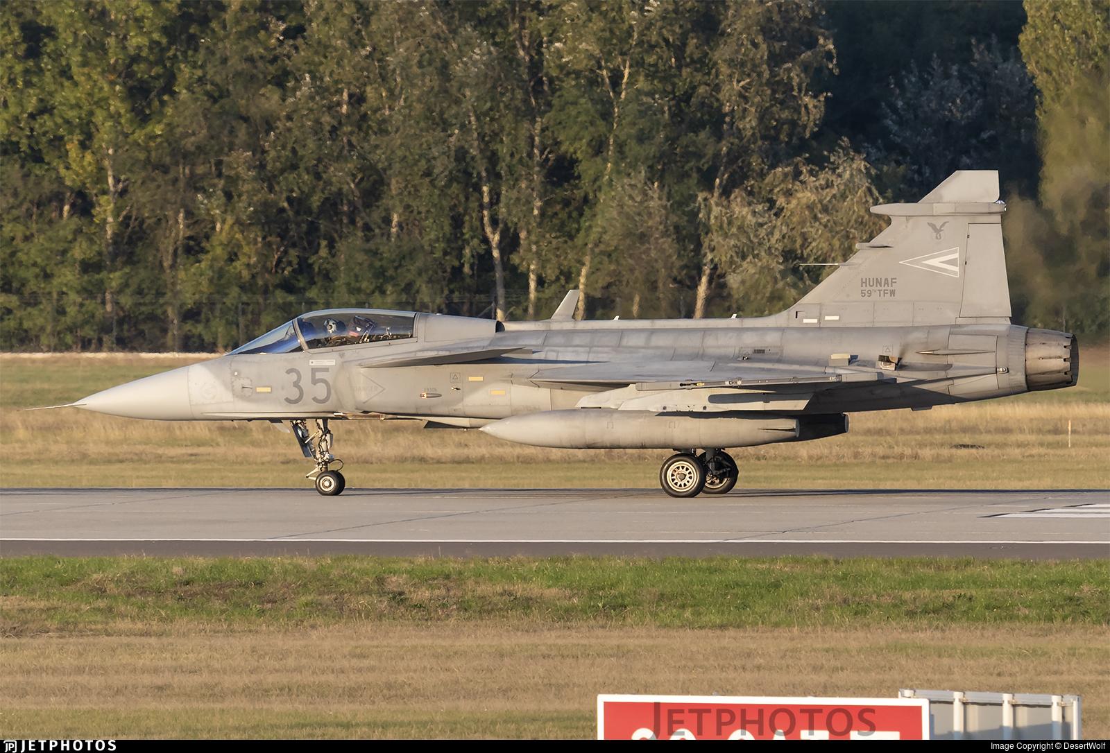 35 - Saab JAS-39C Gripen - Hungary - Air Force