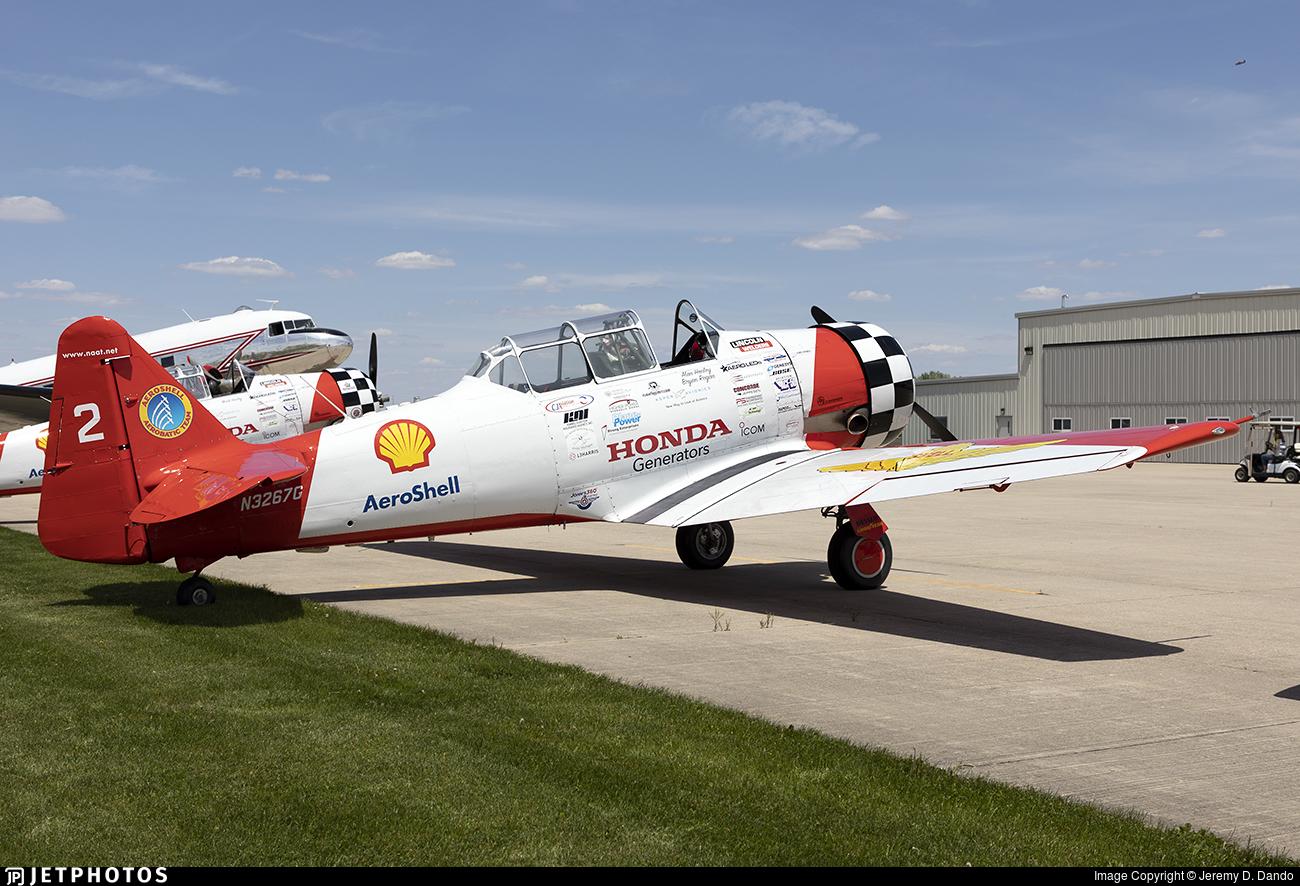 N3267G - North American AT-6G Texan - Aeroshell Aerobatic Team