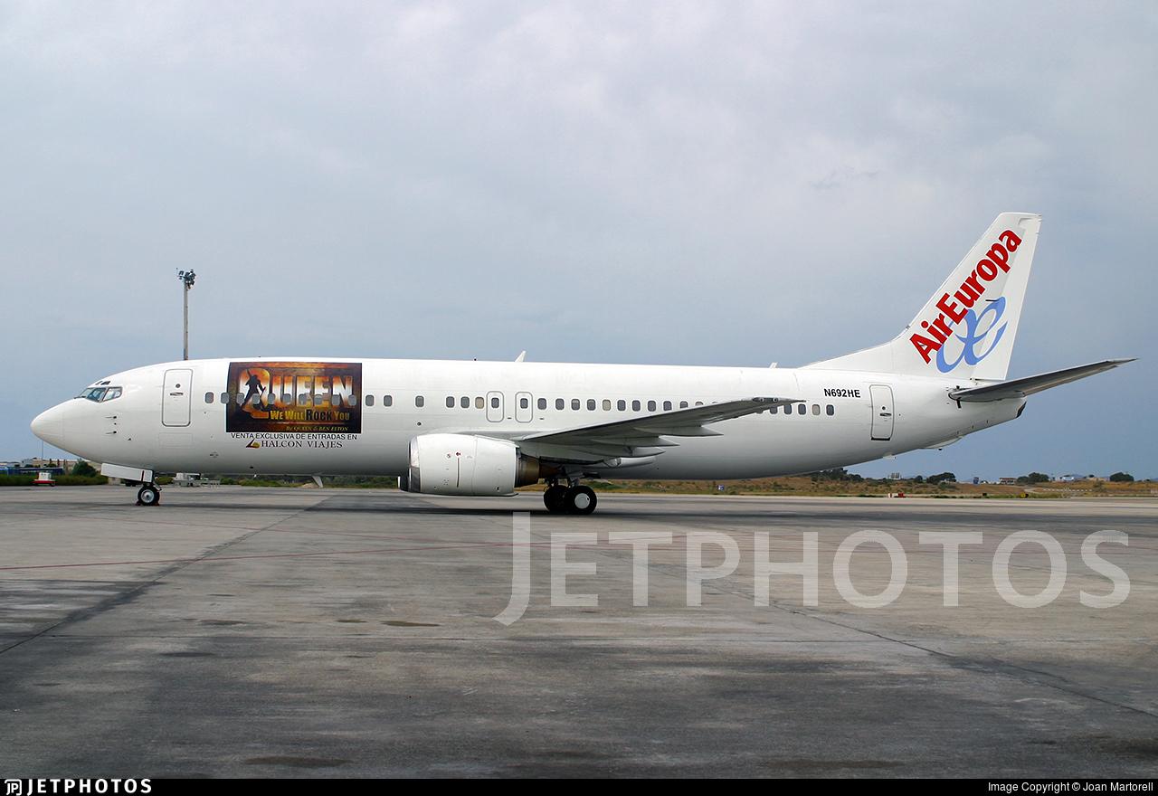 N692HE - Boeing 737-4Y0 - Air Europa