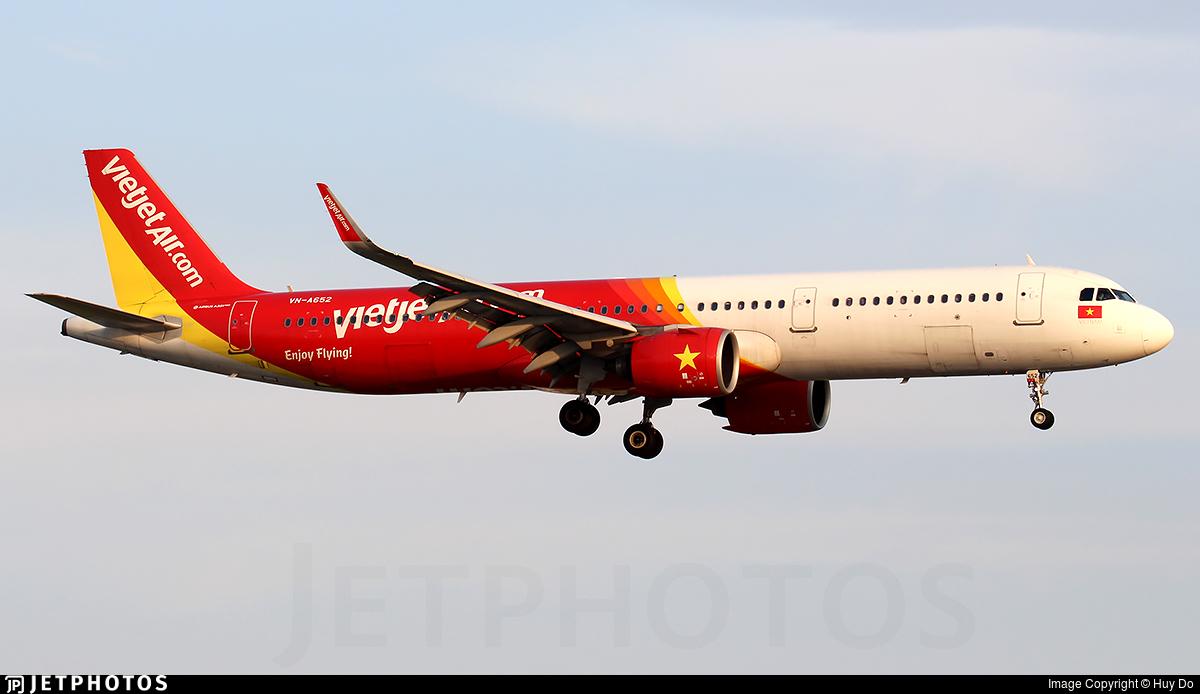 VN-A652 - Airbus A321-271N - VietJet Air
