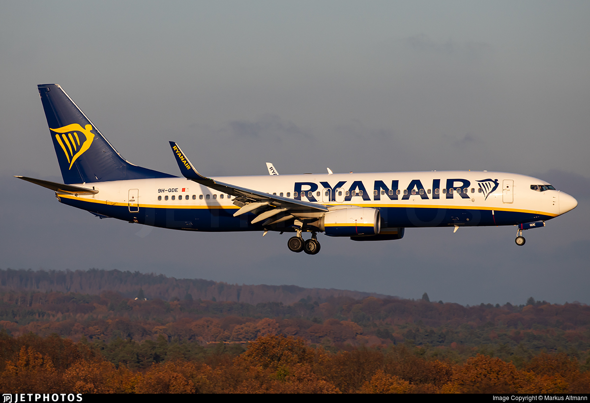 9H-QDE - Boeing 737-8AS - Ryanair (Malta Air)