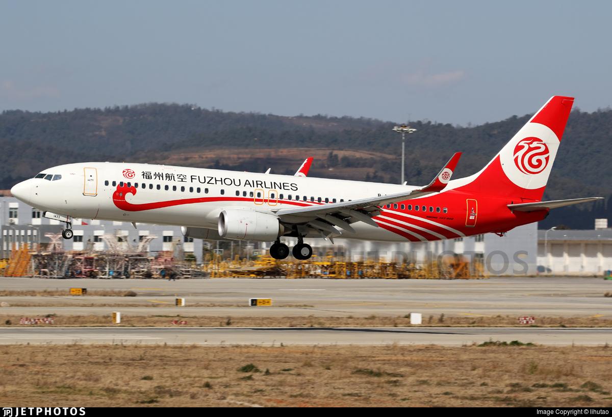 B-1433 - Boeing 737-8EH - Fuzhou Airlines