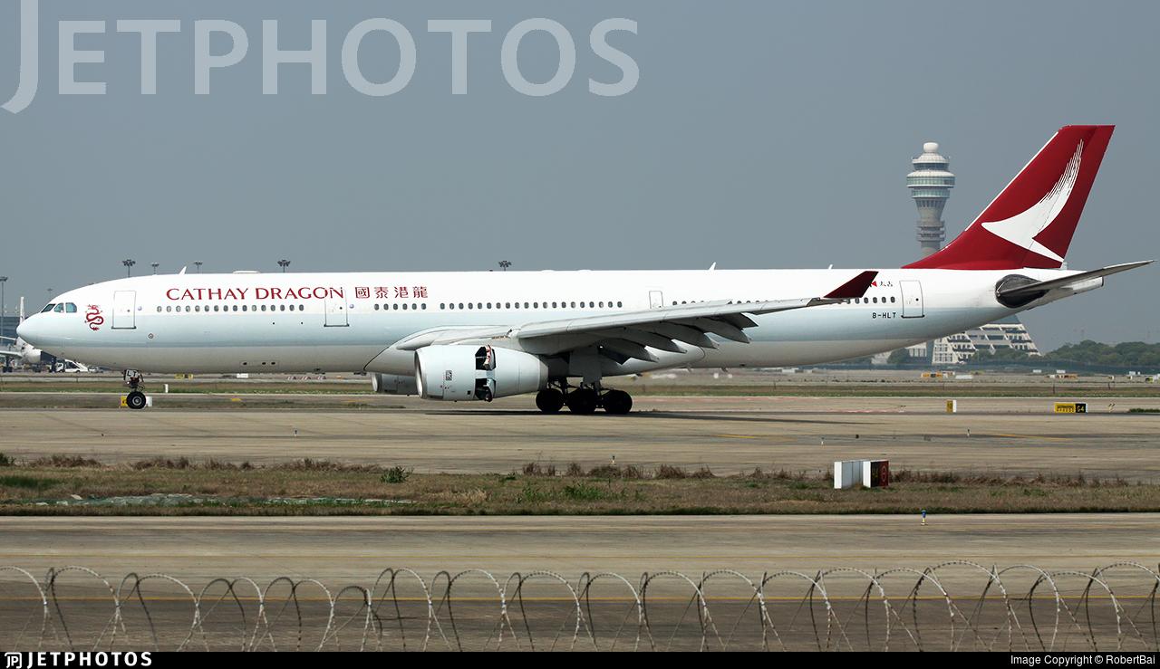 B-HLT - Airbus A330-343 - Cathay Dragon