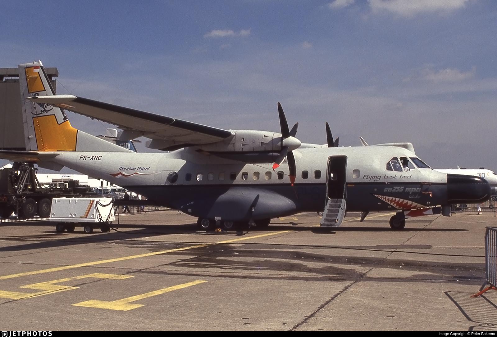 PK-XNC - CASA CN-235MPA - CASA