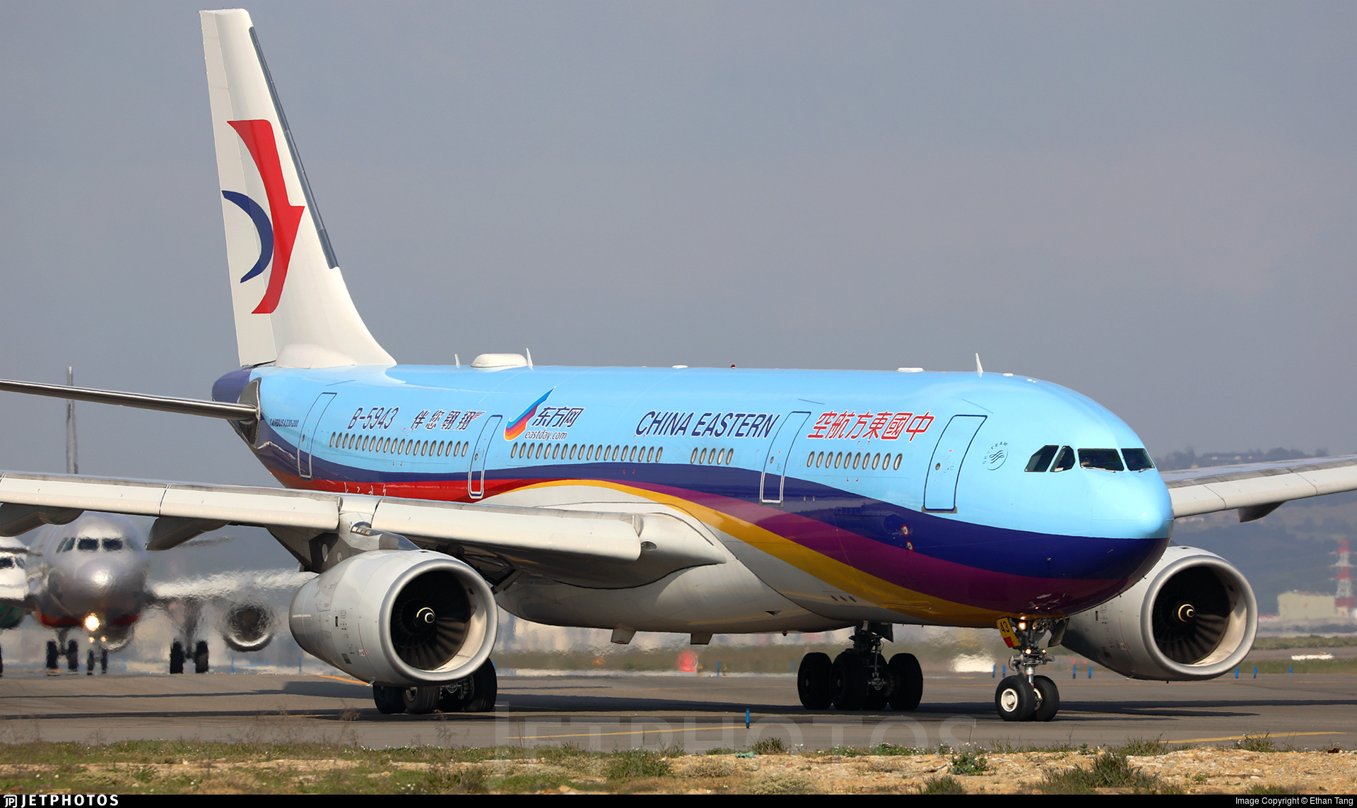 B 5943 Airbus A330 243 China Eastern Airlines