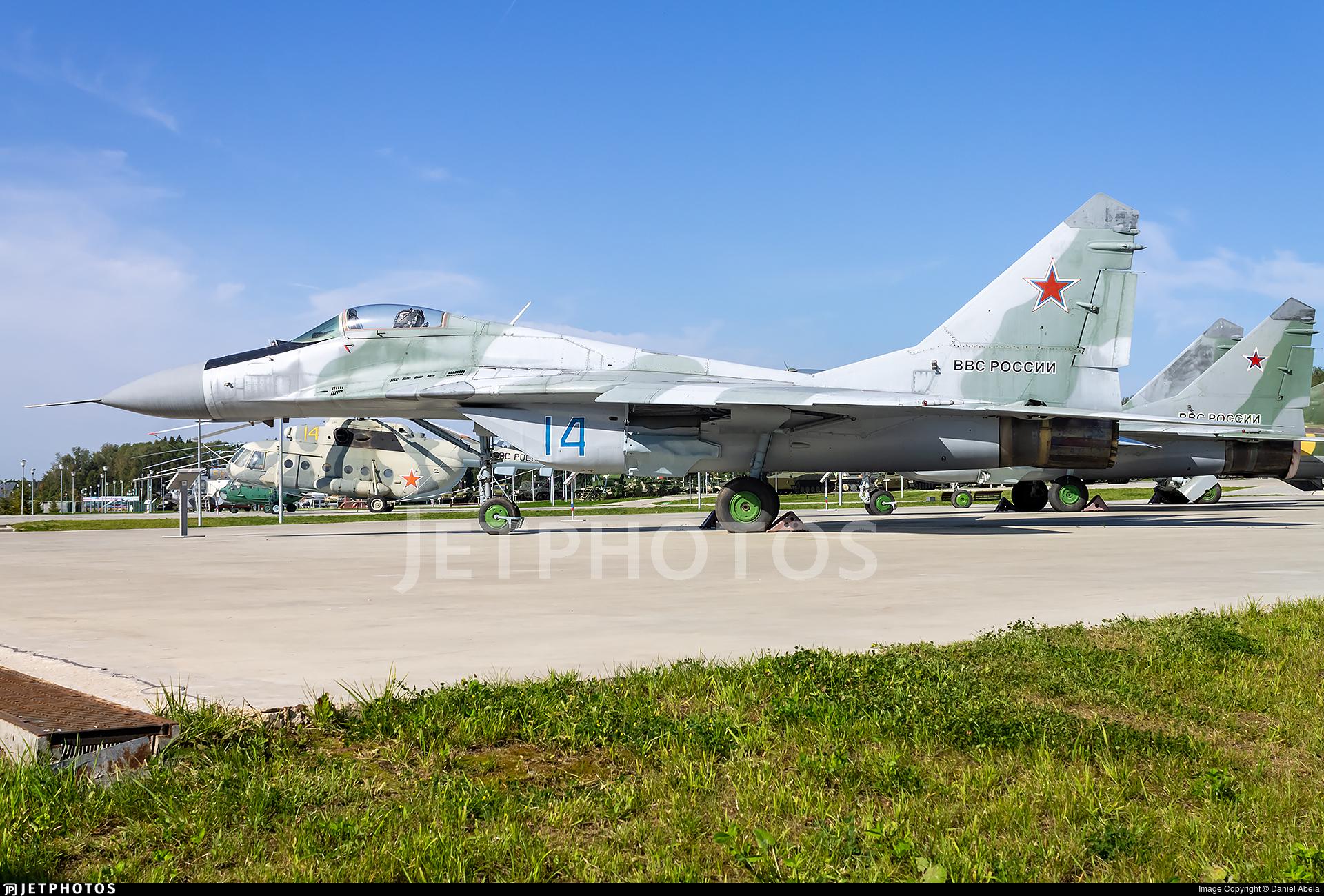 14 - Mikoyan-Gurevich MiG-29A Fulcrum - Russia - Air Force
