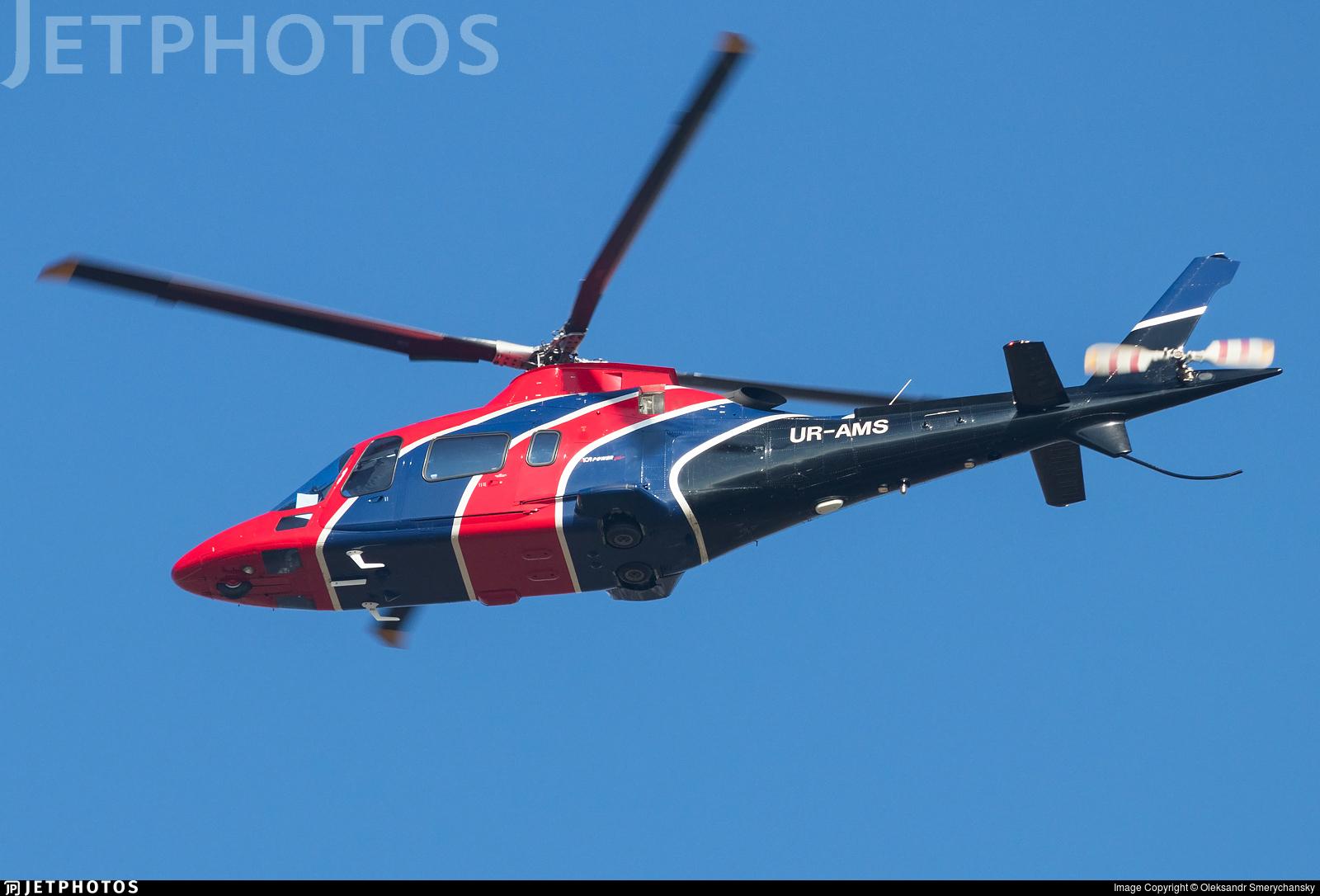 UR-AMS - Agusta A109 Power Elite - Private