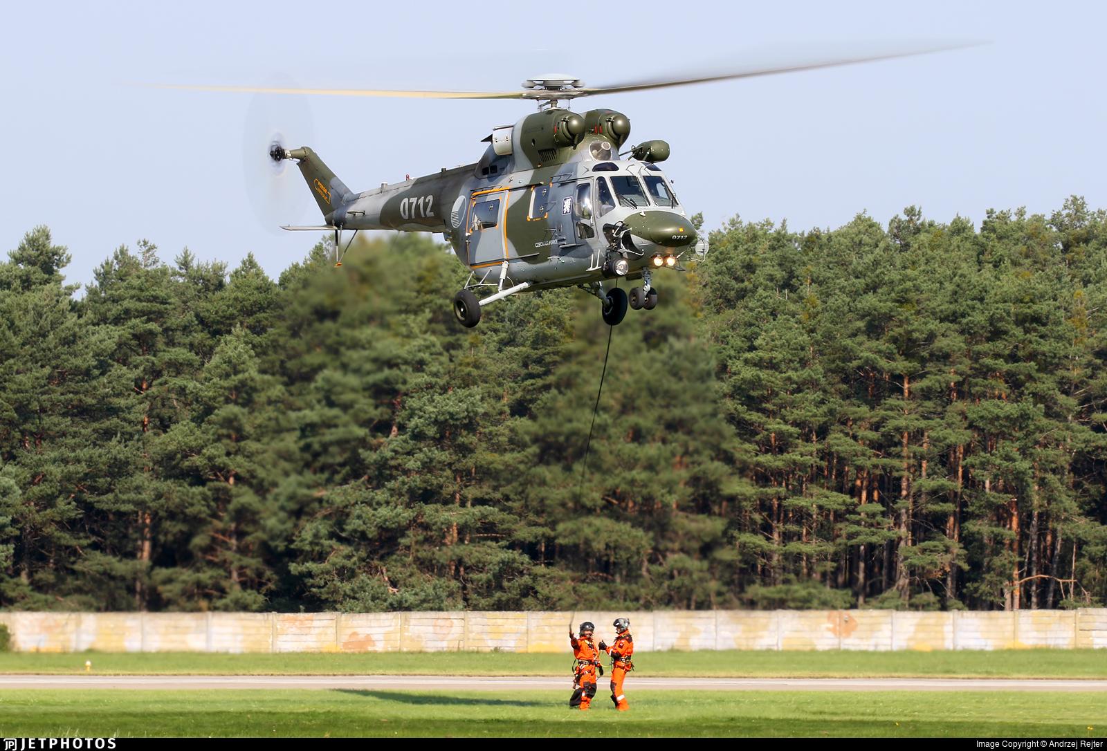 0712 - PZL-Swidnik W3A Sokol - Czech Republic - Air Force