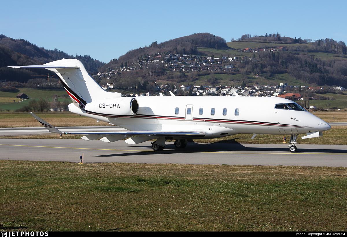 CS-CHA - Bombardier BD-100-1A10 Challenger 350 - NetJets Europe