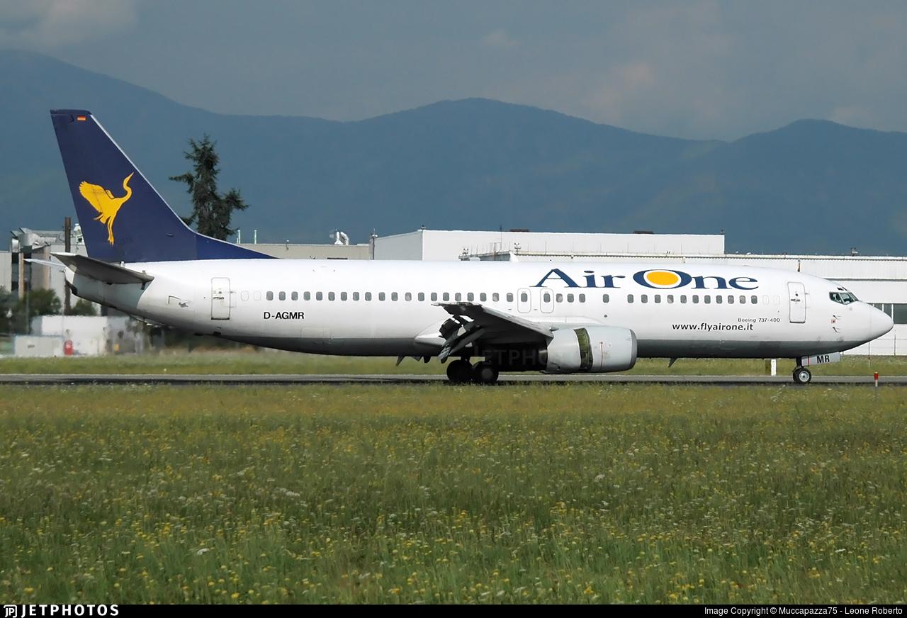 D-AGMR - Boeing 737-430 - Air One