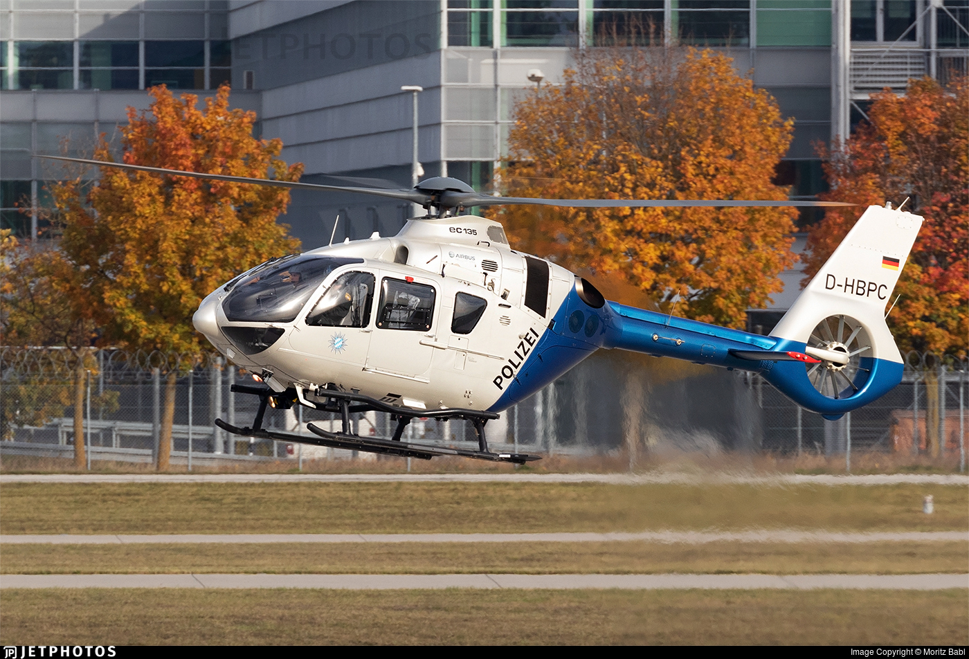 D-HBPC - Eurocopter EC 135P2+ - Germany - Police