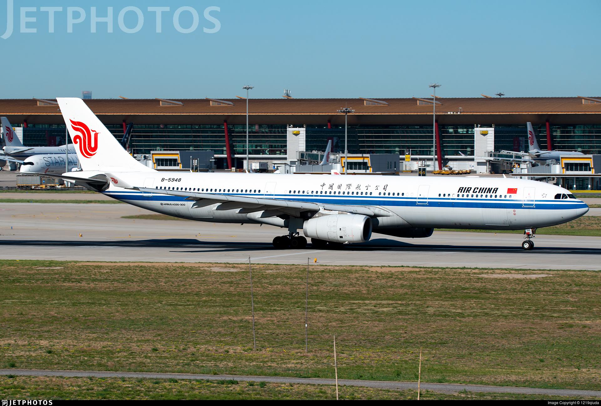 B-5948 - Airbus A330-343 - Air China