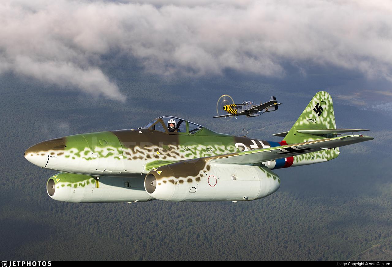 N262MF - Messerschmitt Me 262-1a - Private
