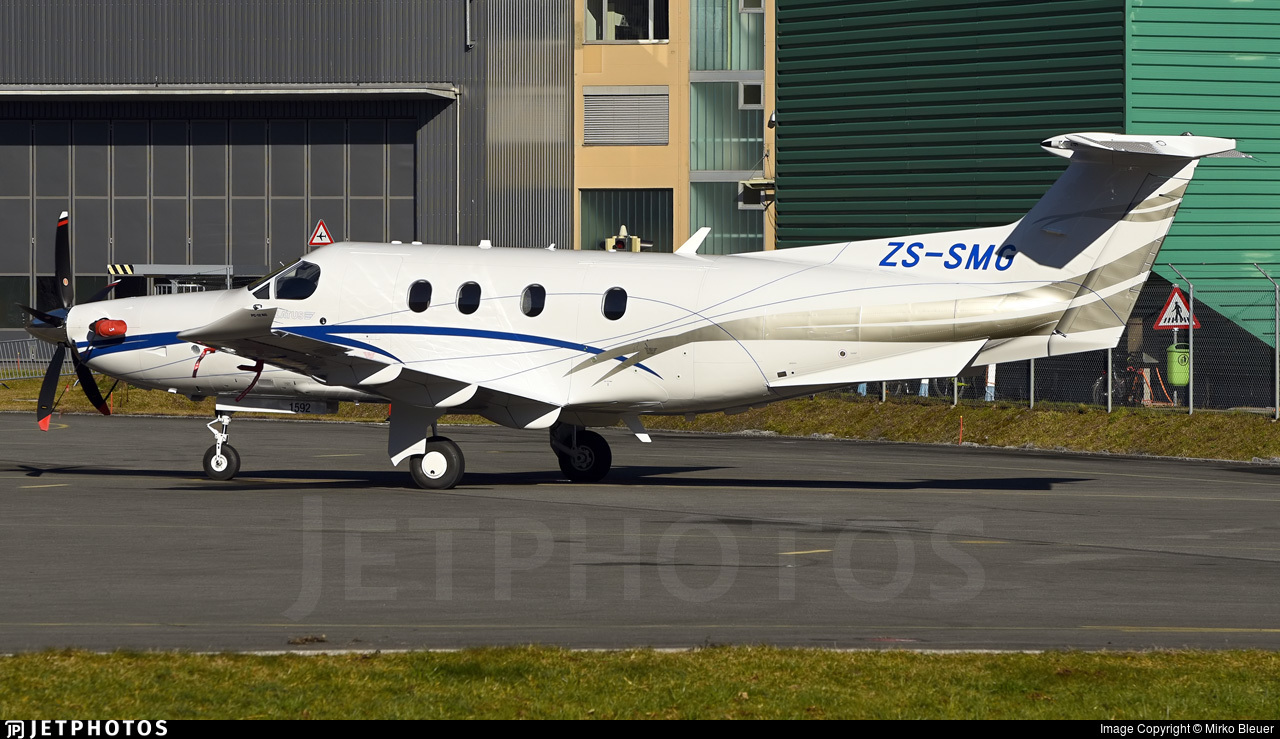 ZS-SMG - Pilatus PC-12/47E - Private