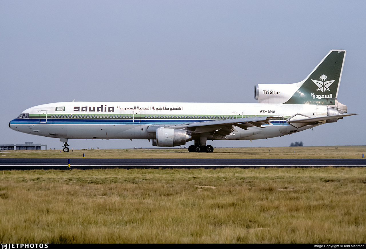 HZ-AHA - Lockheed L-1011-100 Tristar - Saudi Arabian Airlines