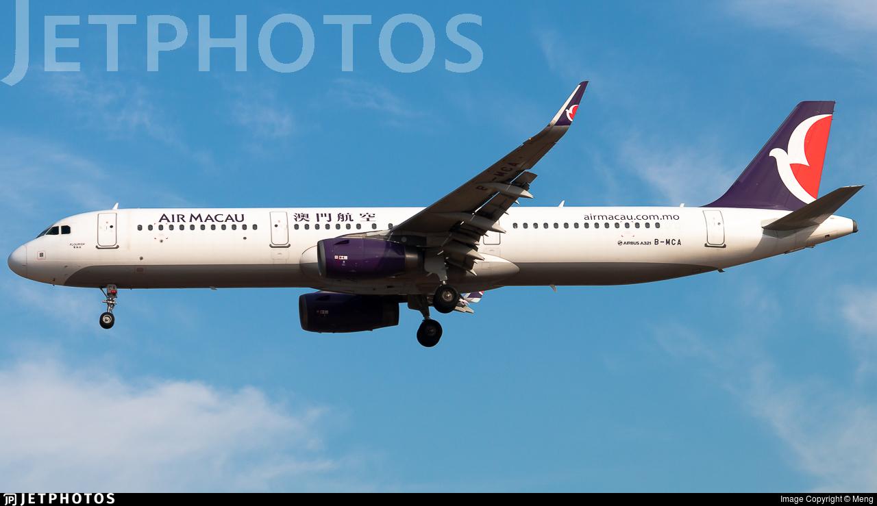 B-MCA - Airbus A321-231 - Air Macau