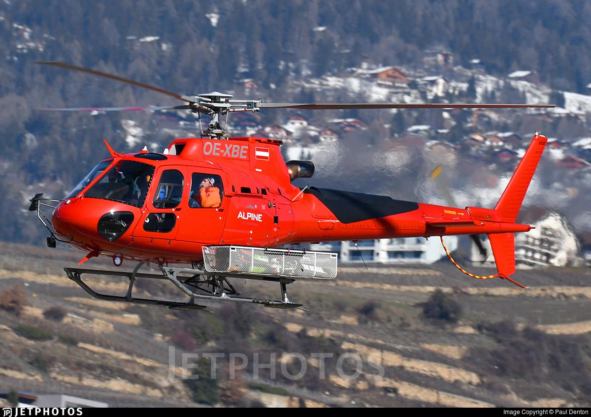 OE-XBE - Aérospatiale AS 350B3 Ecureuil - Alpine Helicopters
