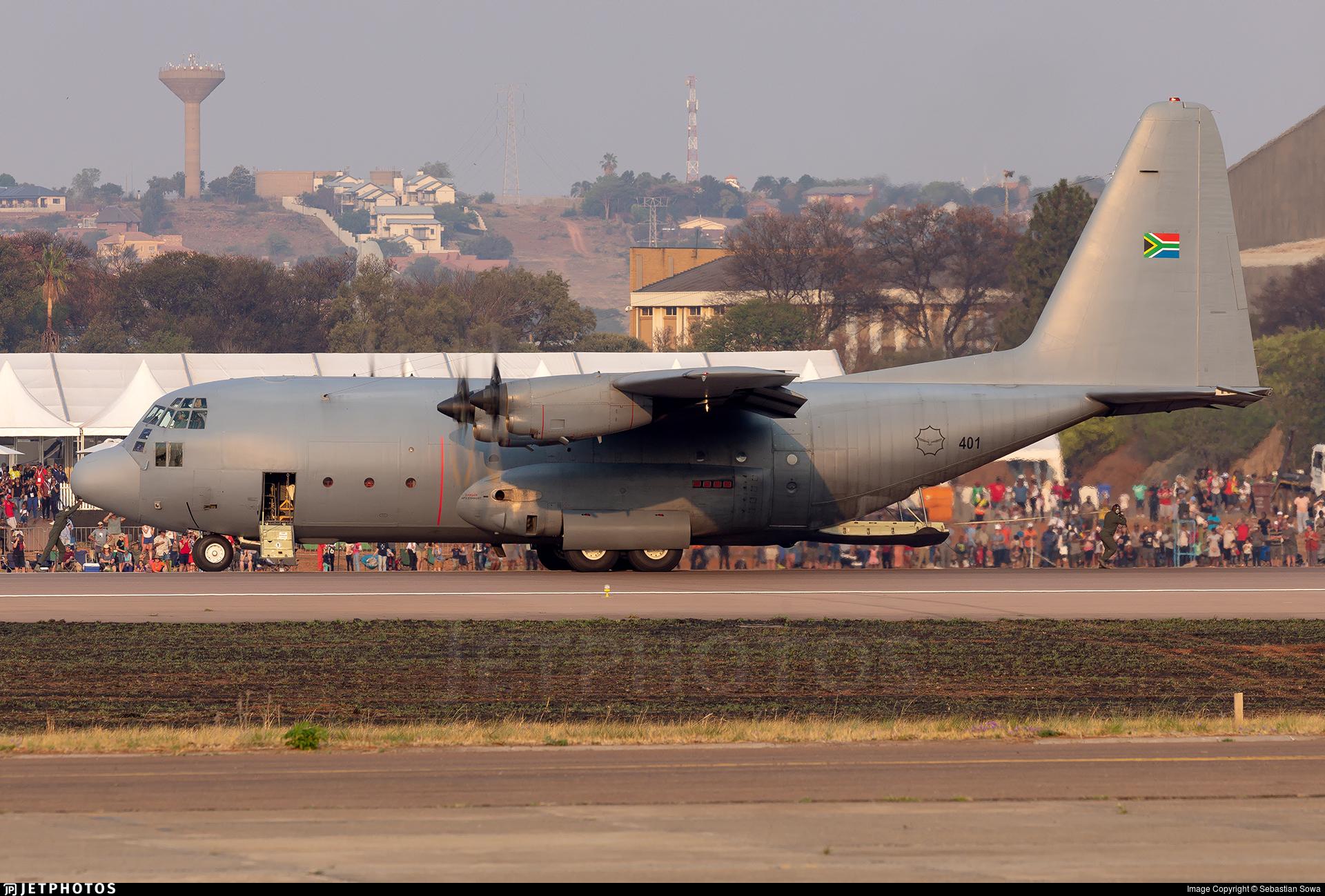 401 - Lockheed C-130B Hercules - South Africa - Air Force