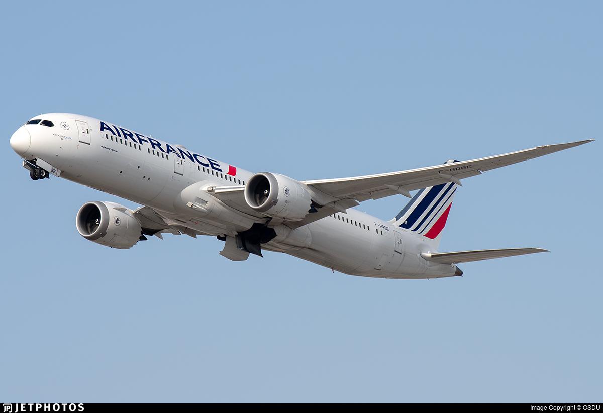 F-HRBE - Boeing 787-9 Dreamliner - Air France