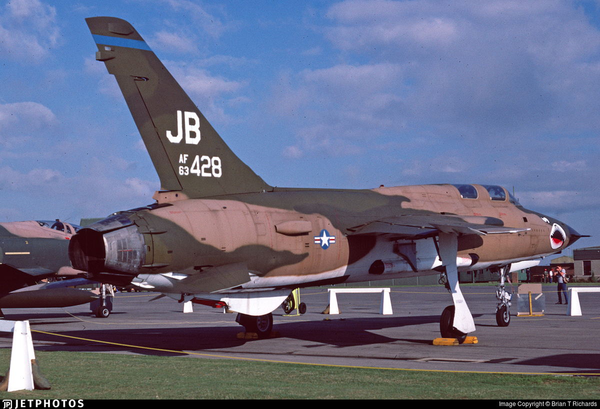 63-8428 - Republic F-105G Thunderchief - United States - US Air Force (USAF)