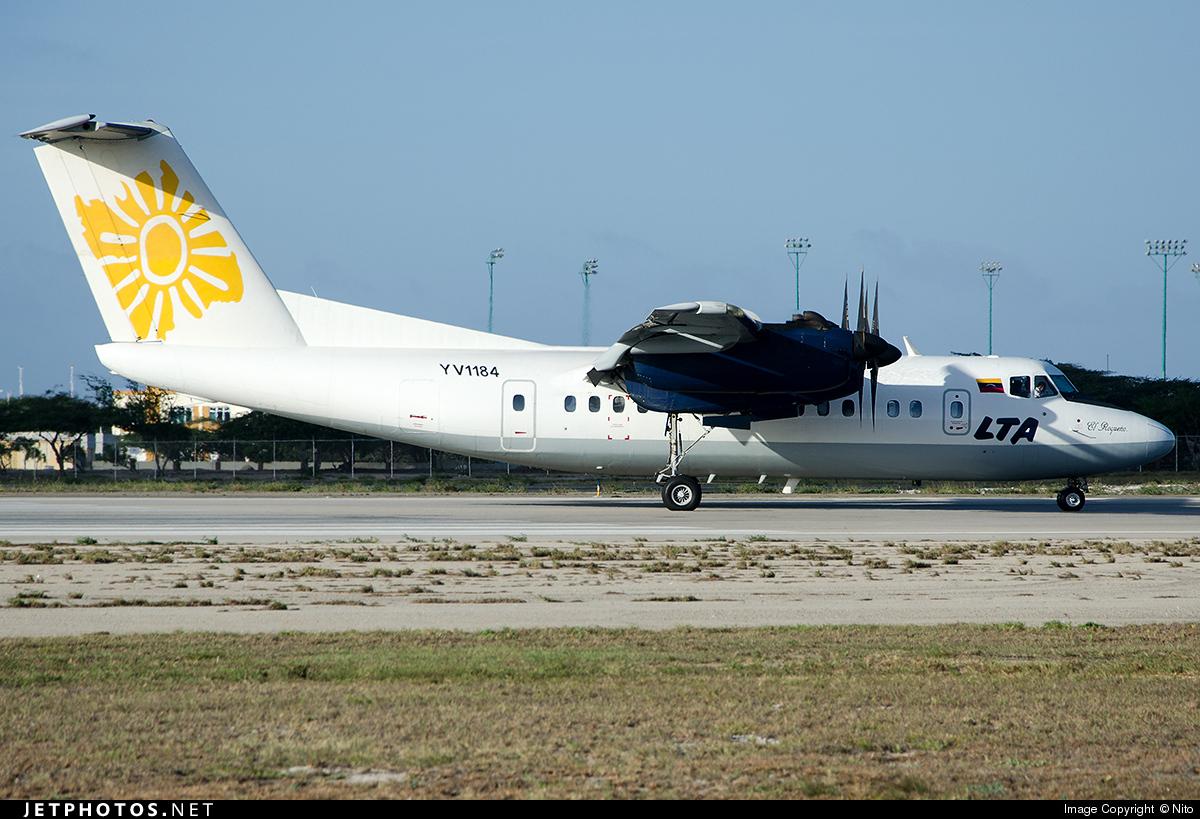 YV1184 - De Havilland Canada DHC-7-102 Dash 7 - Línea Turística Aereotuy (LTA)