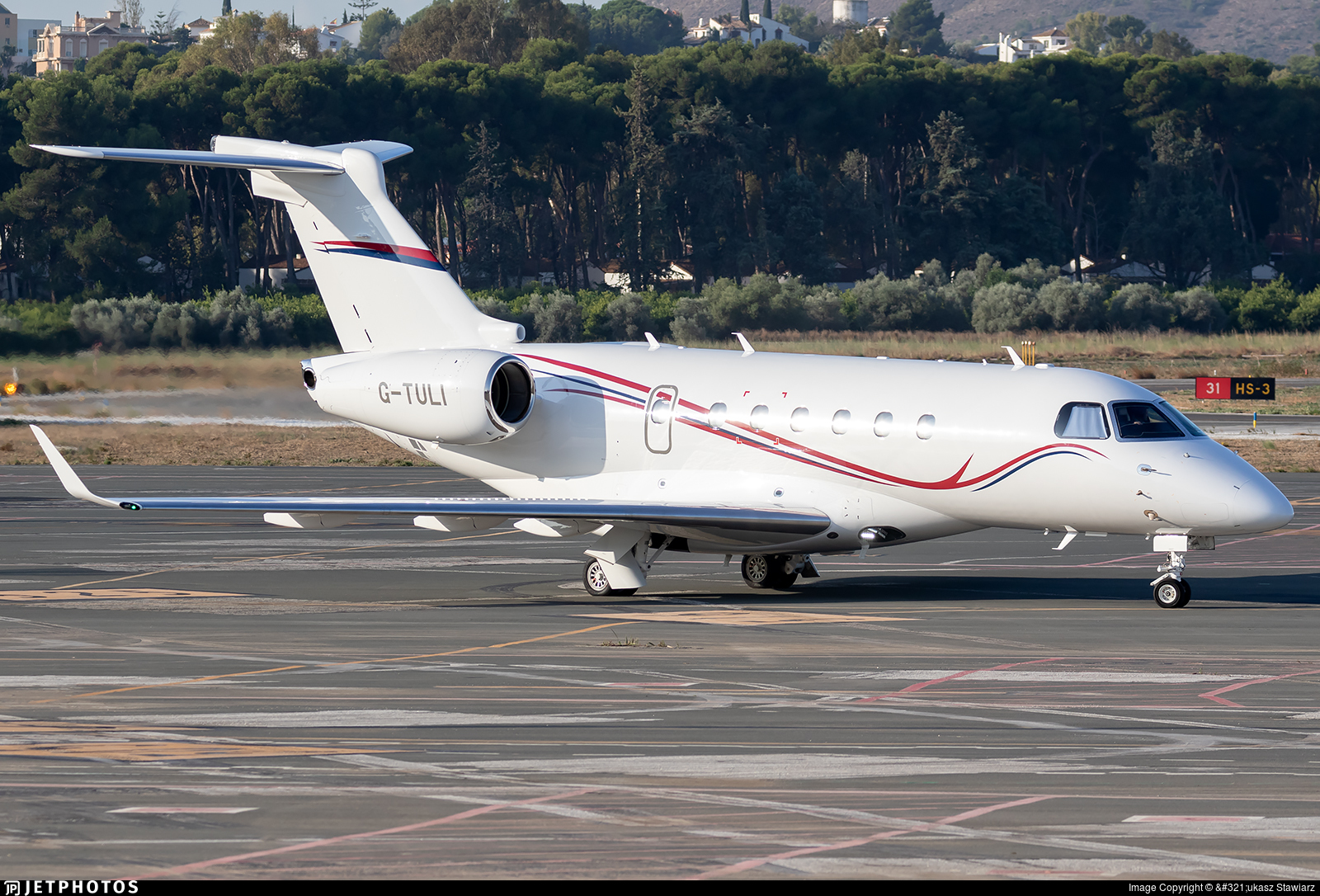 G-TULI - Embraer EMB-550 Legacy 500 - Private