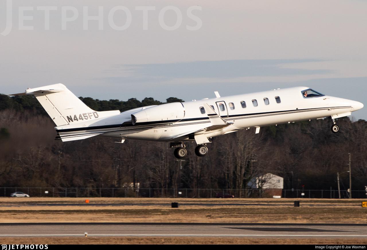 N445FD - Bombardier Learjet 45XR - Private