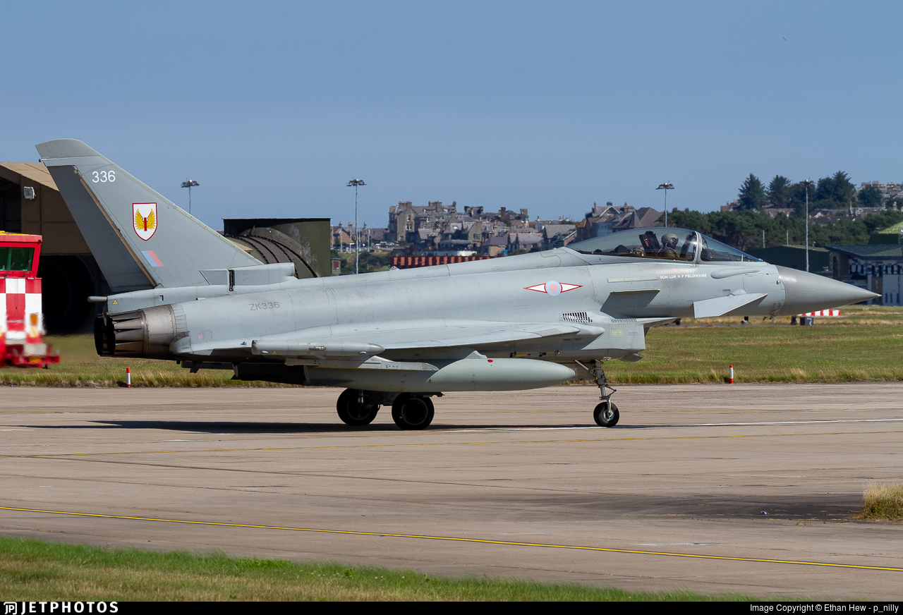 ZK336 - Eurofighter Typhoon FGR.4 - United Kingdom - Royal Air Force (RAF)