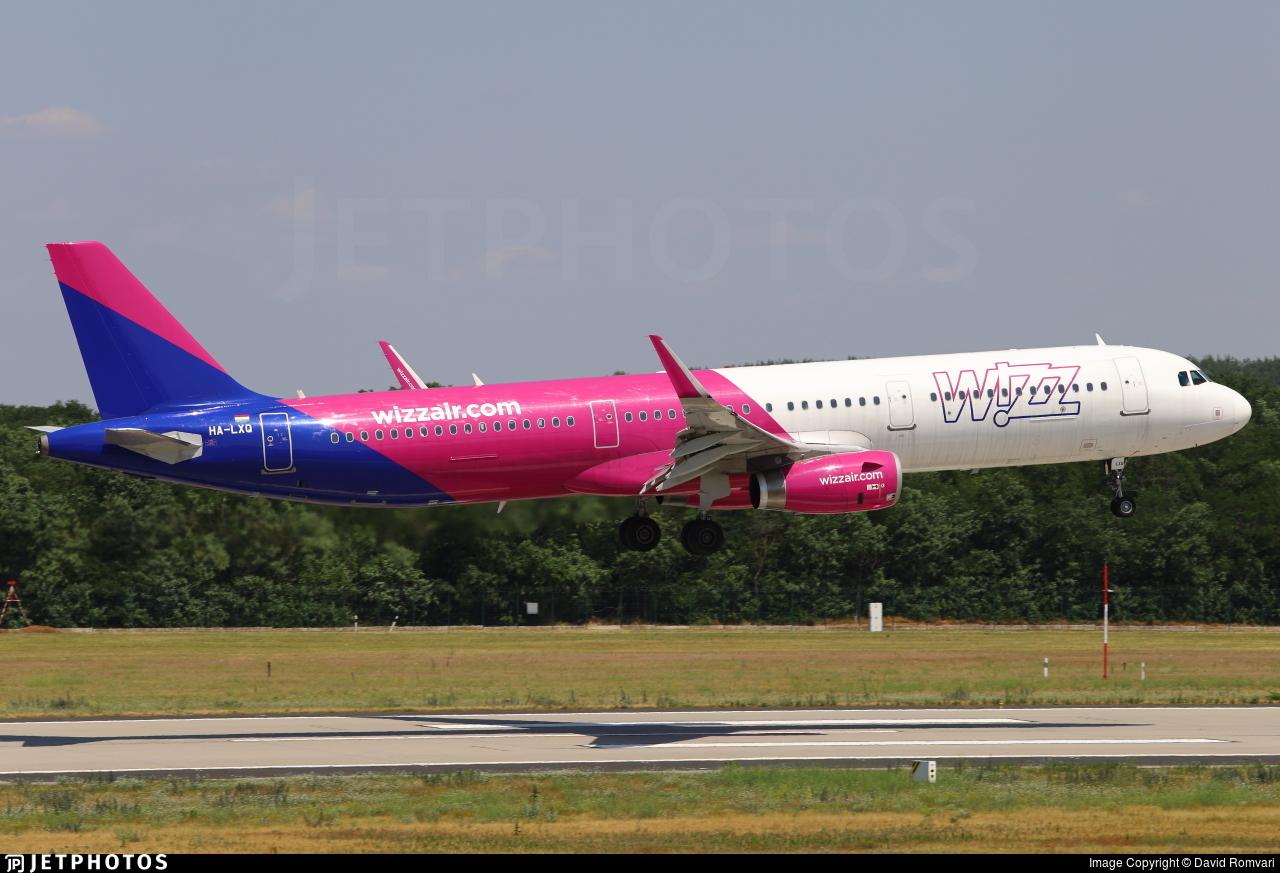 HA-LXQ - Airbus A321-231 - Wizz Air