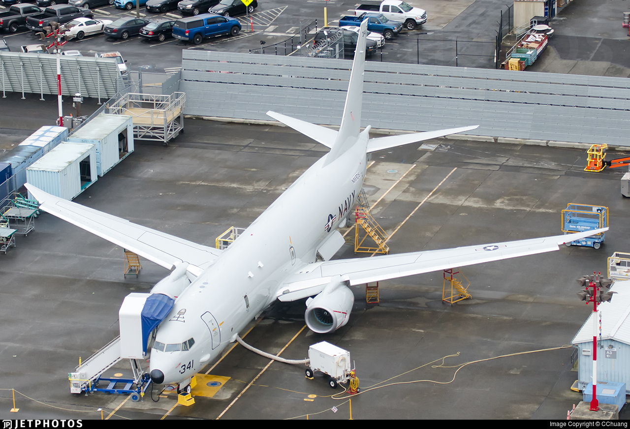 N869DS - Boeing P-8A Poseidon - United States - US Navy (USN)