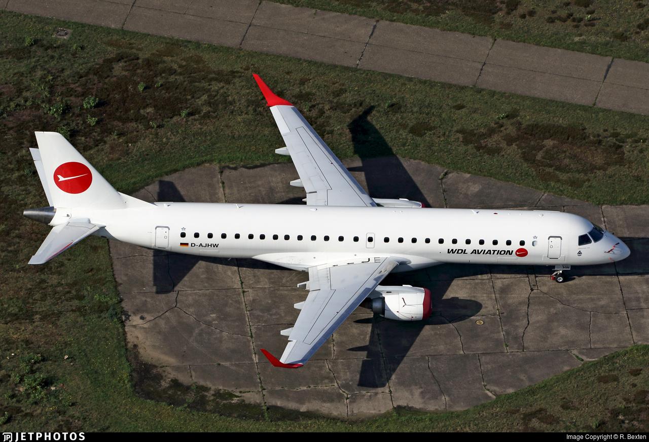 D-AJHW - Embraer 190-100LR - WDL Aviation