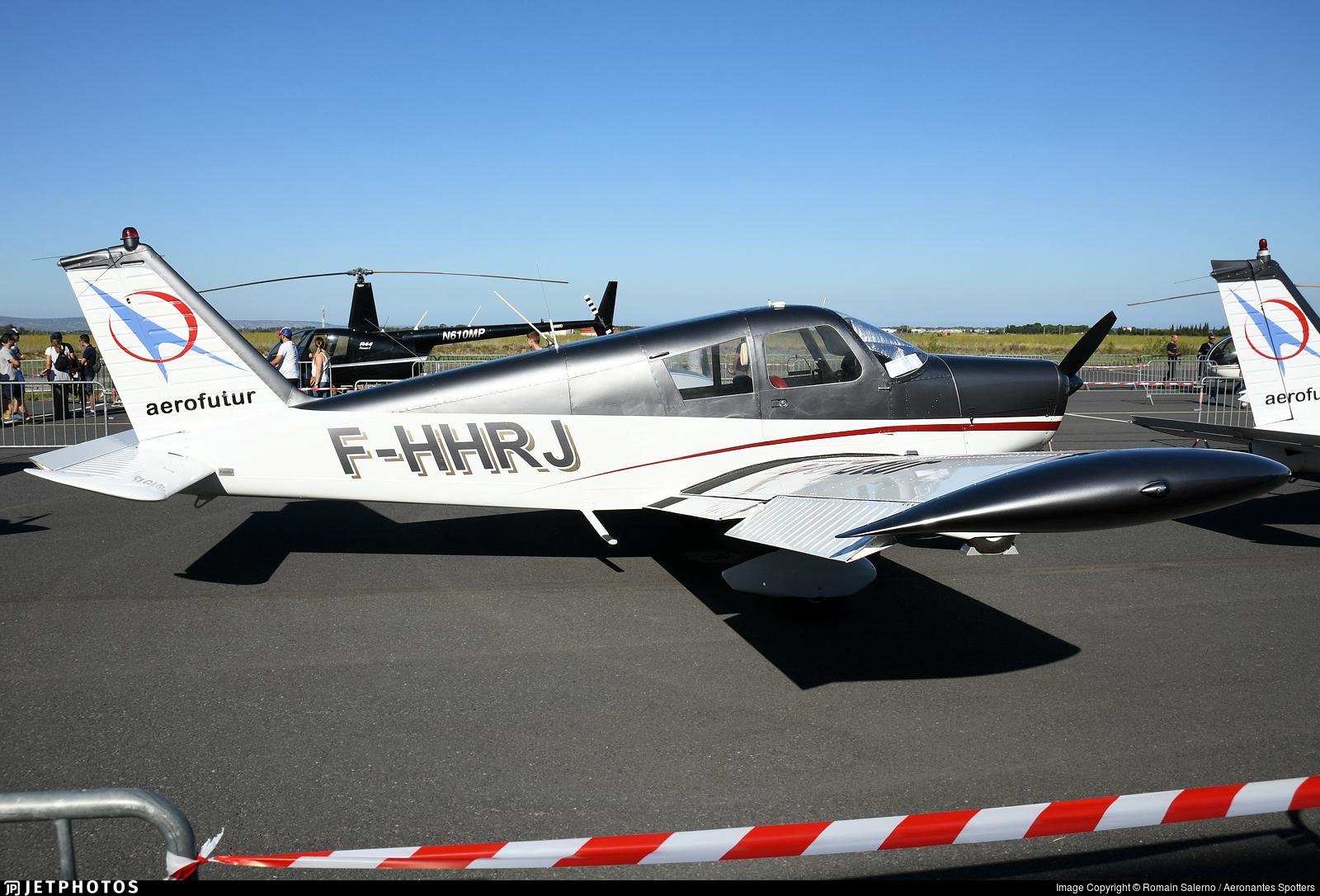 F-HHRJ   Piper PA-28-140 Cherokee B   Aerofutur   Romain