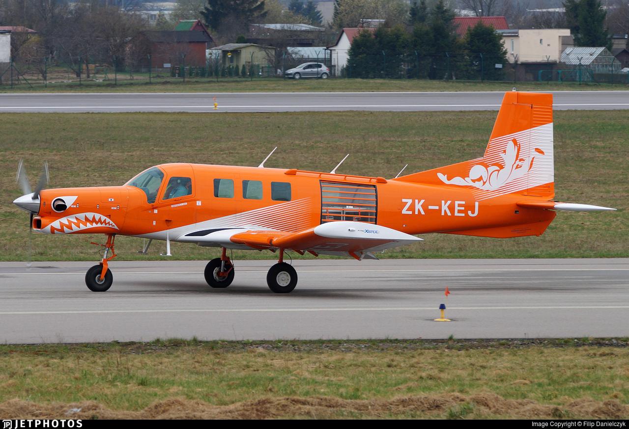 ZK-KEJ - Pacific Aerospace P-750 XSTOL - Private