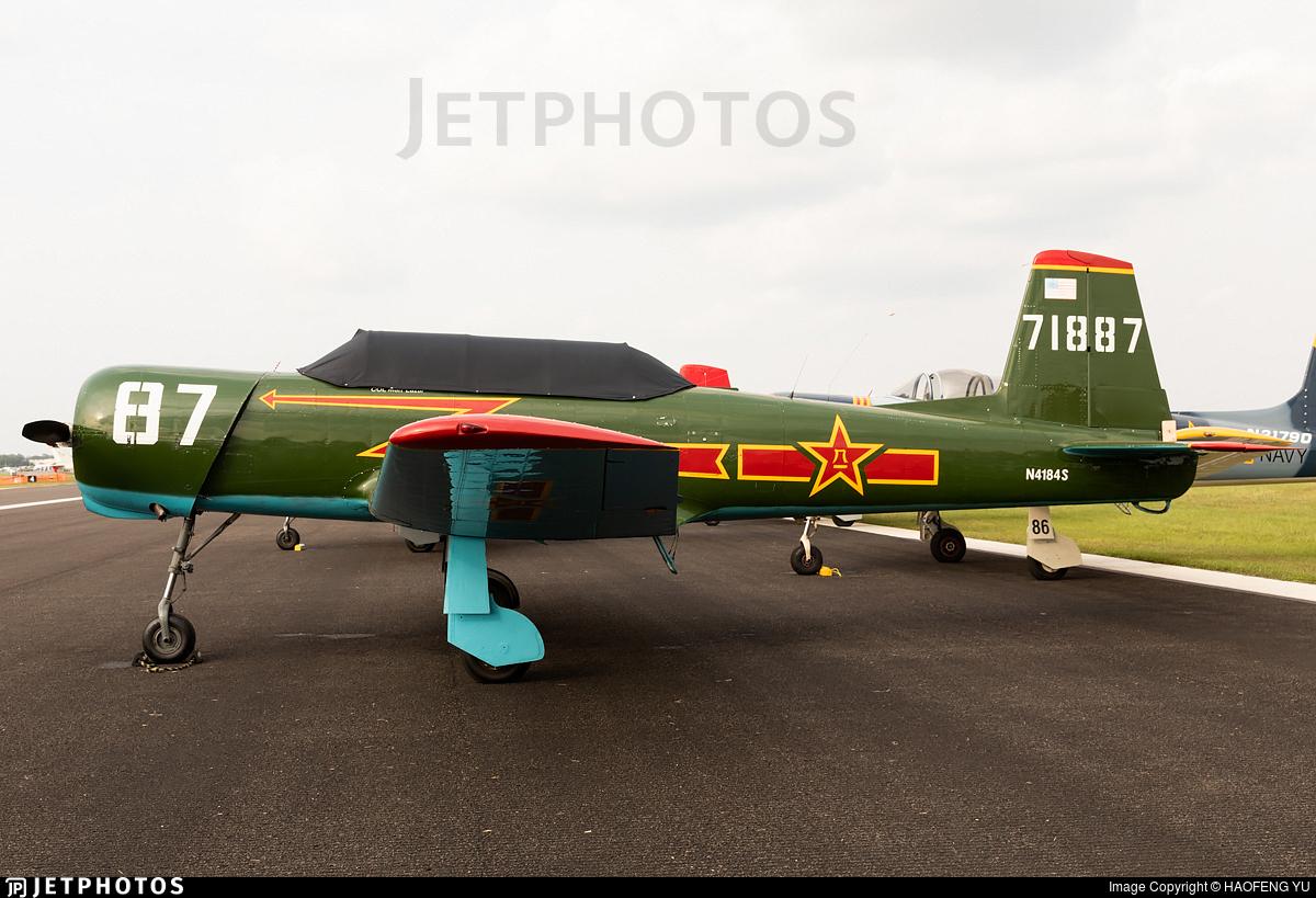 N4184S - Nanchang CJ-6A - Private