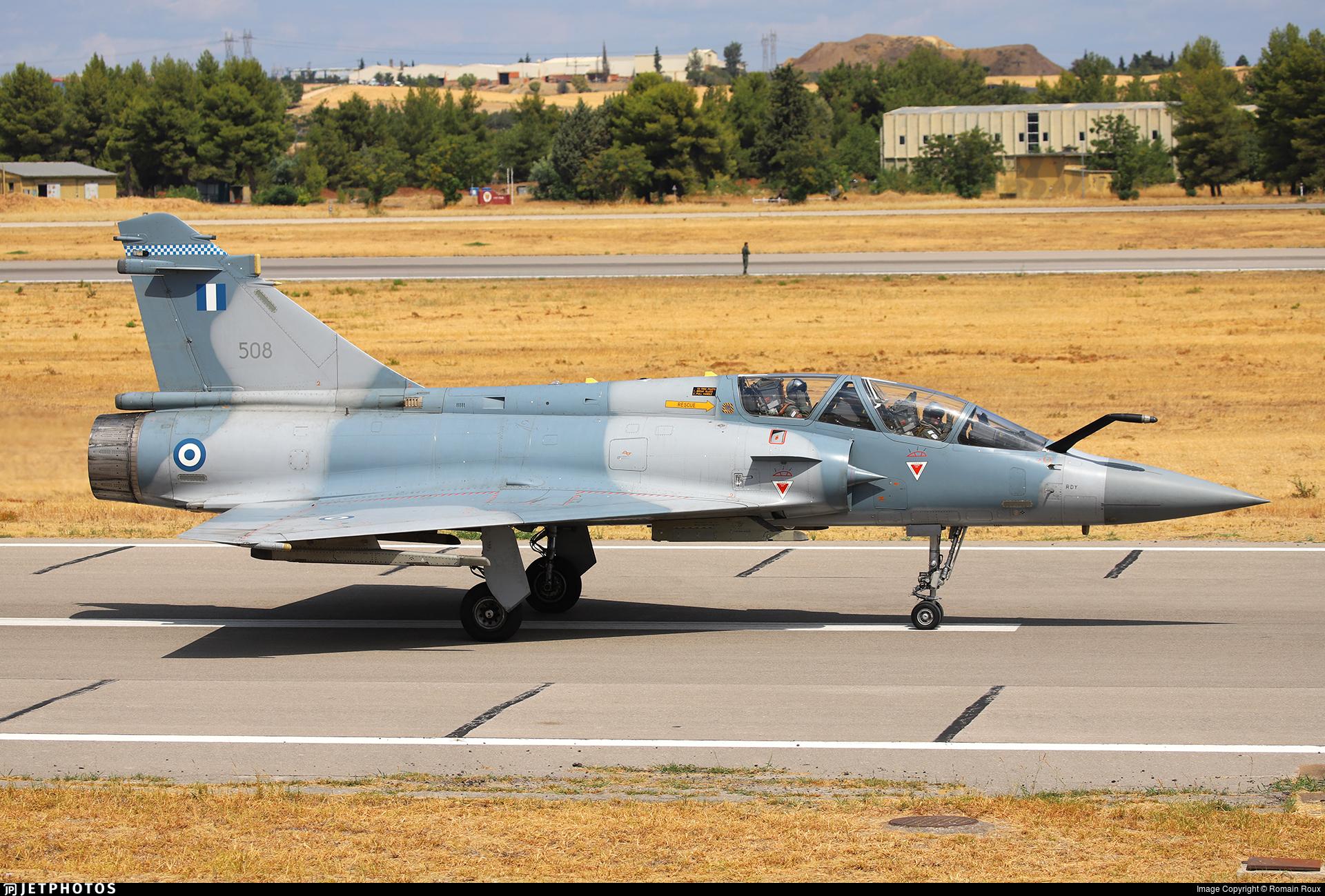 508 - Dassault Mirage 2000B - Greece - Air Force