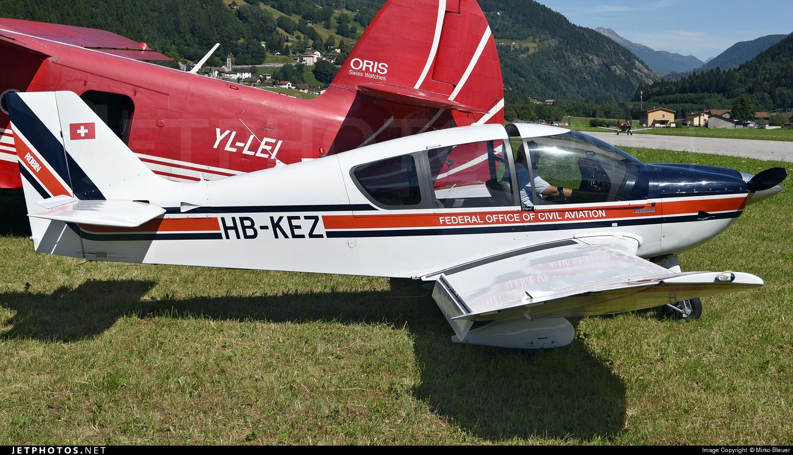 HB-KEZ - Robin DR500 Président - Switzerland - Bundesamt für Zivilluftfahrt (Federal Office of Civil Aviation)