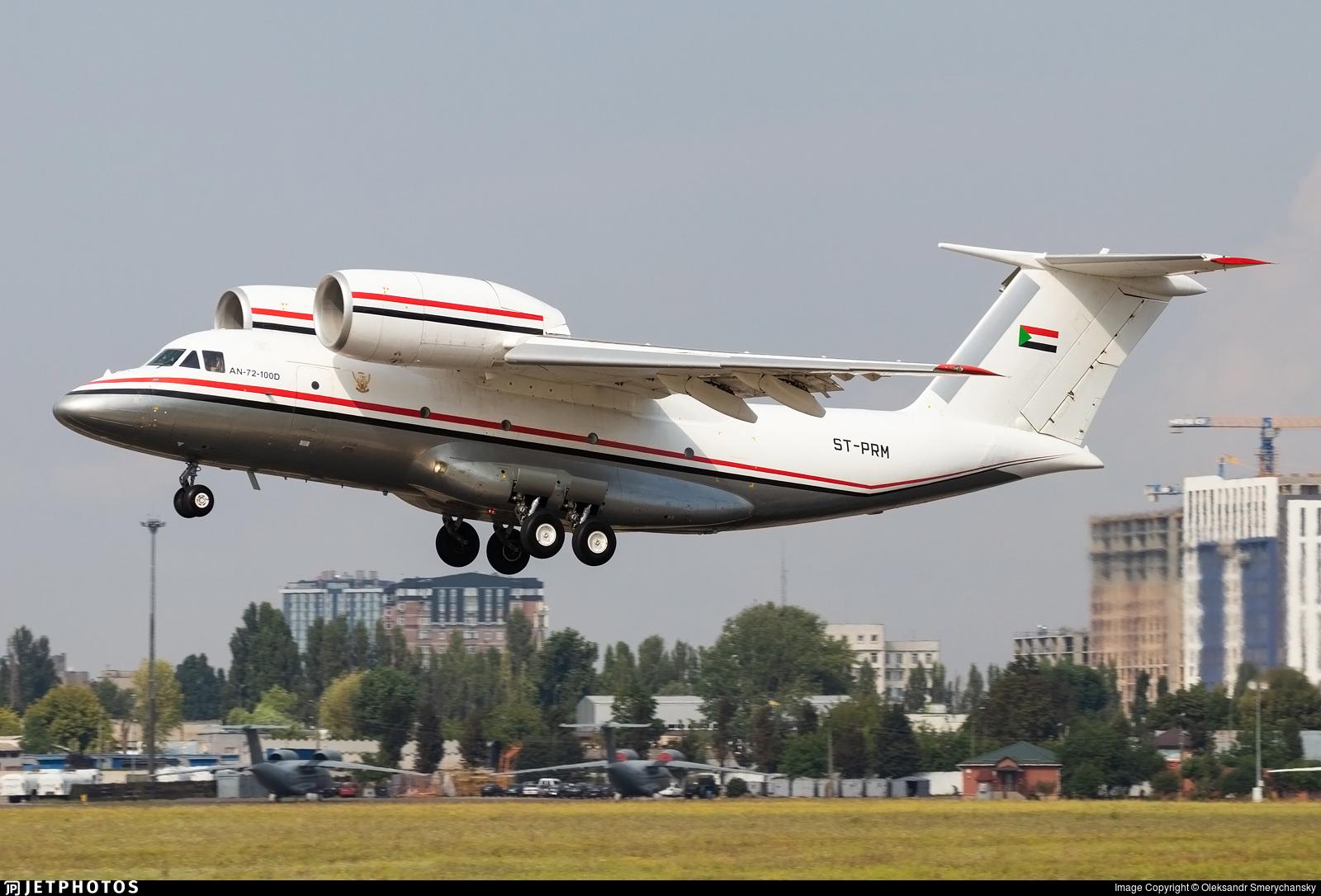 ST-PRM - Antonov An-72-100D - Sudan - Government