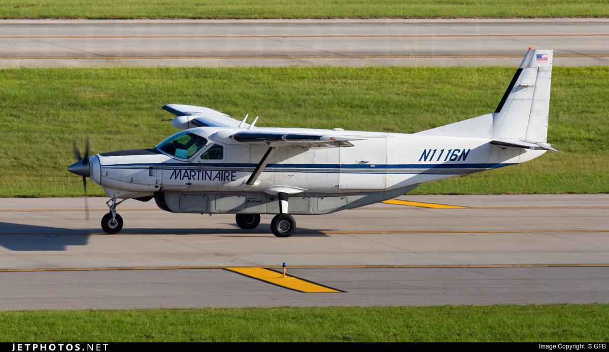 N1116N - Cessna 208B Grand Caravan - Martinaire