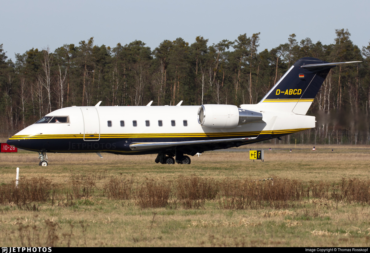 D-ABCD - Bombardier CL-600-2B16 Challenger 604 - DC Aviation