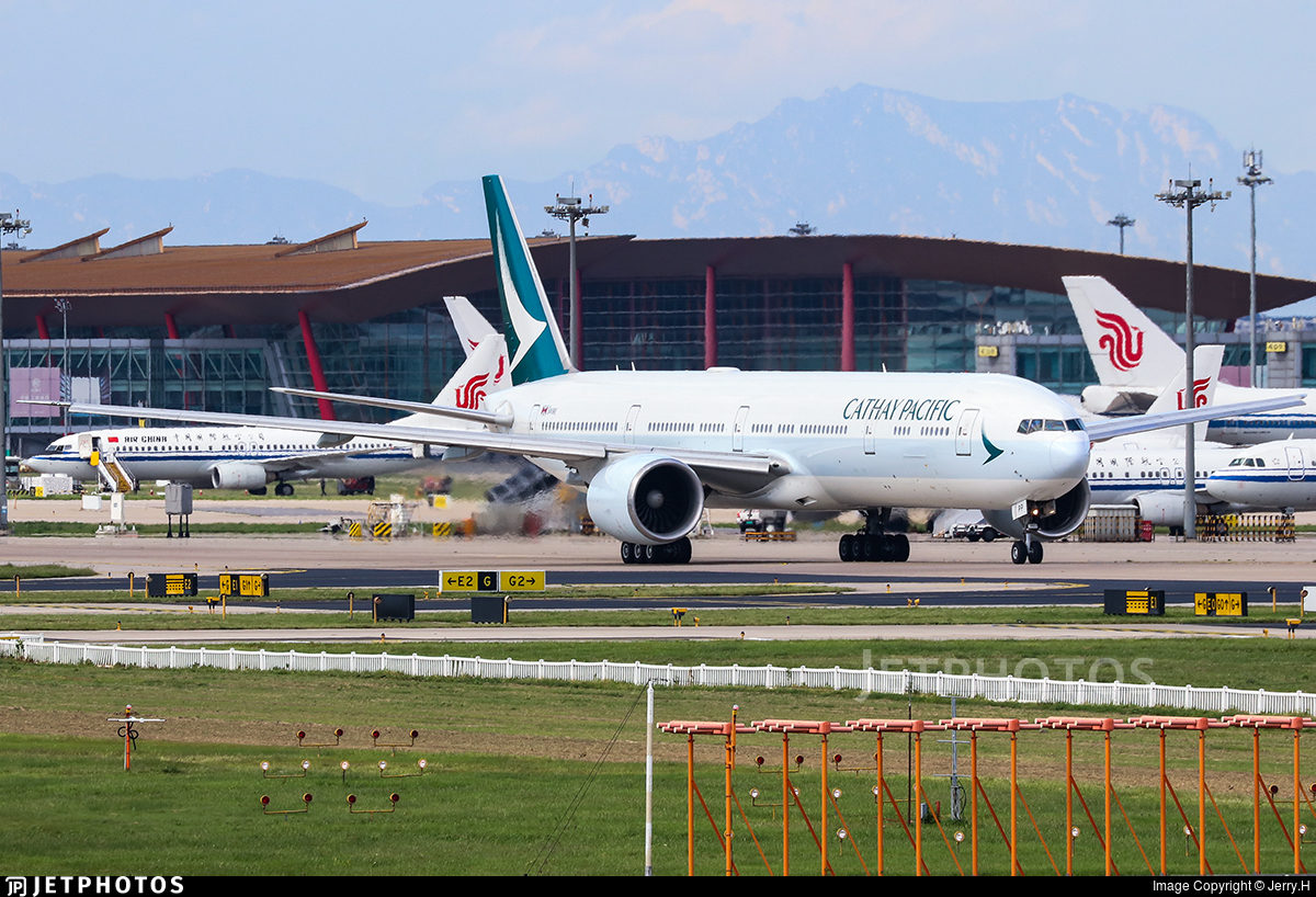 B-KPP - Boeing 777-367ER - Cathay Pacific Airways