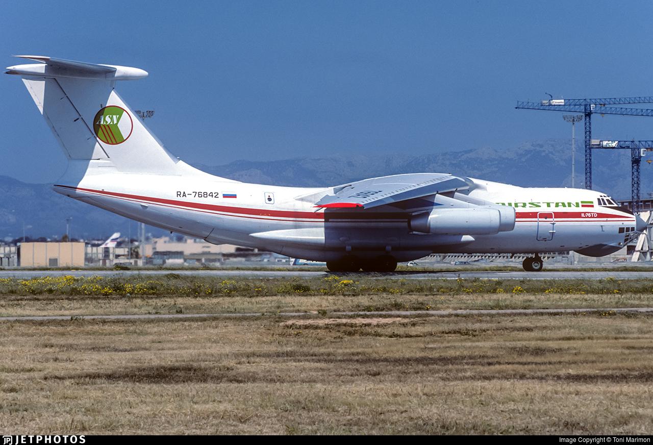 RA-76842 - Ilyushin IL-76TD - Airstan