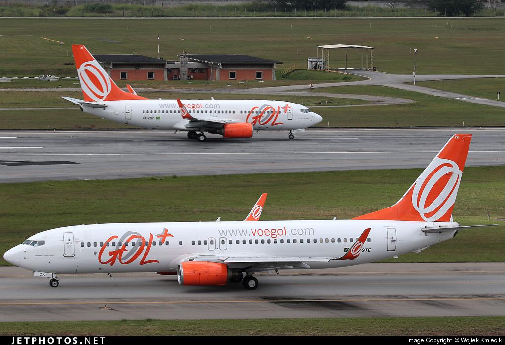 PR-GTE - Boeing 737-8EH - GOL Linhas Aéreas