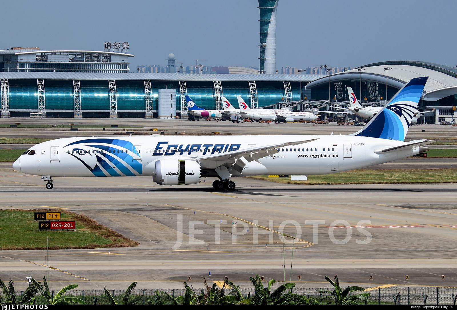 SU-GEW - Boeing 787-9 Dreamliner - EgyptAir