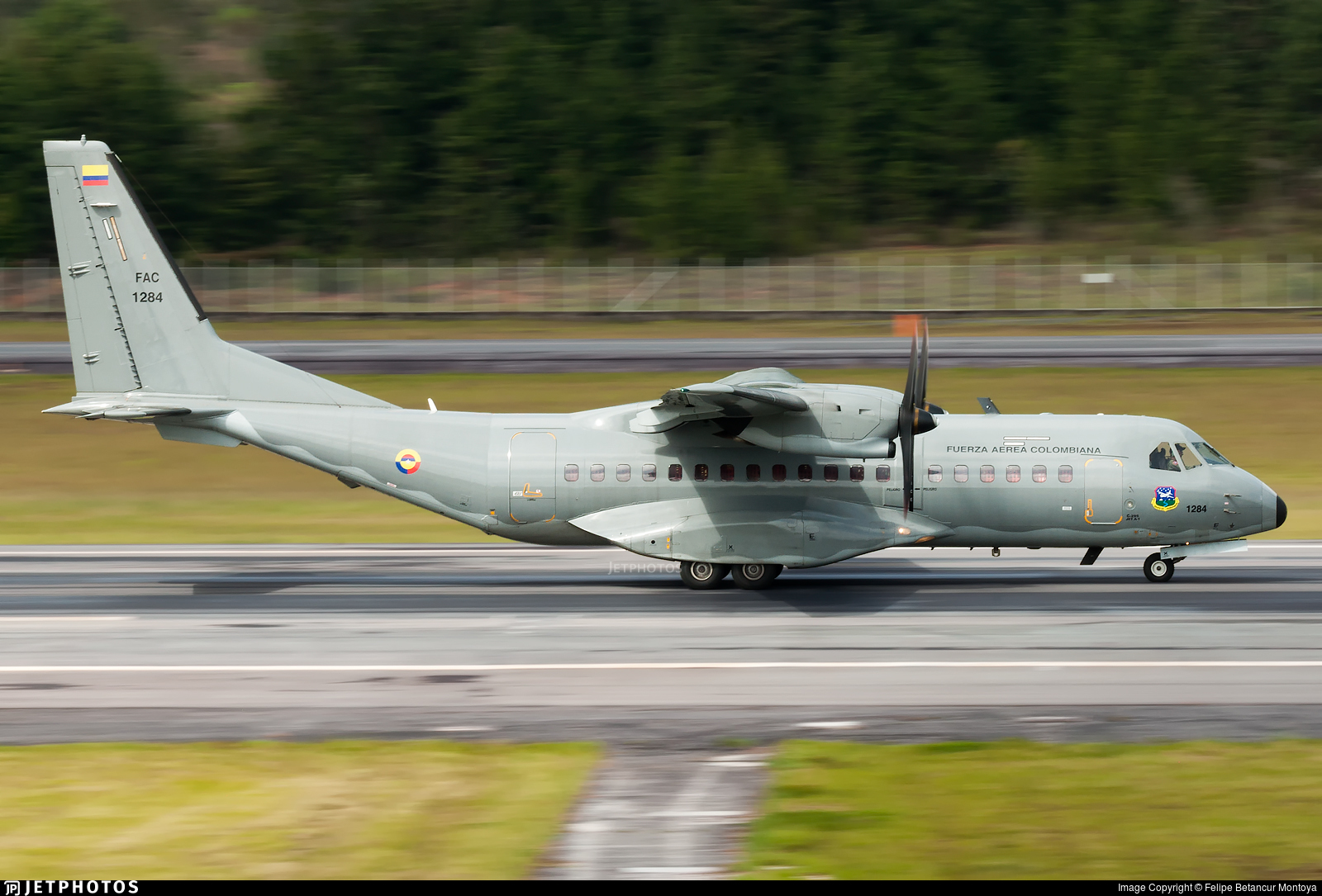 FAC1284 - CASA C-295M - Colombia - Air Force