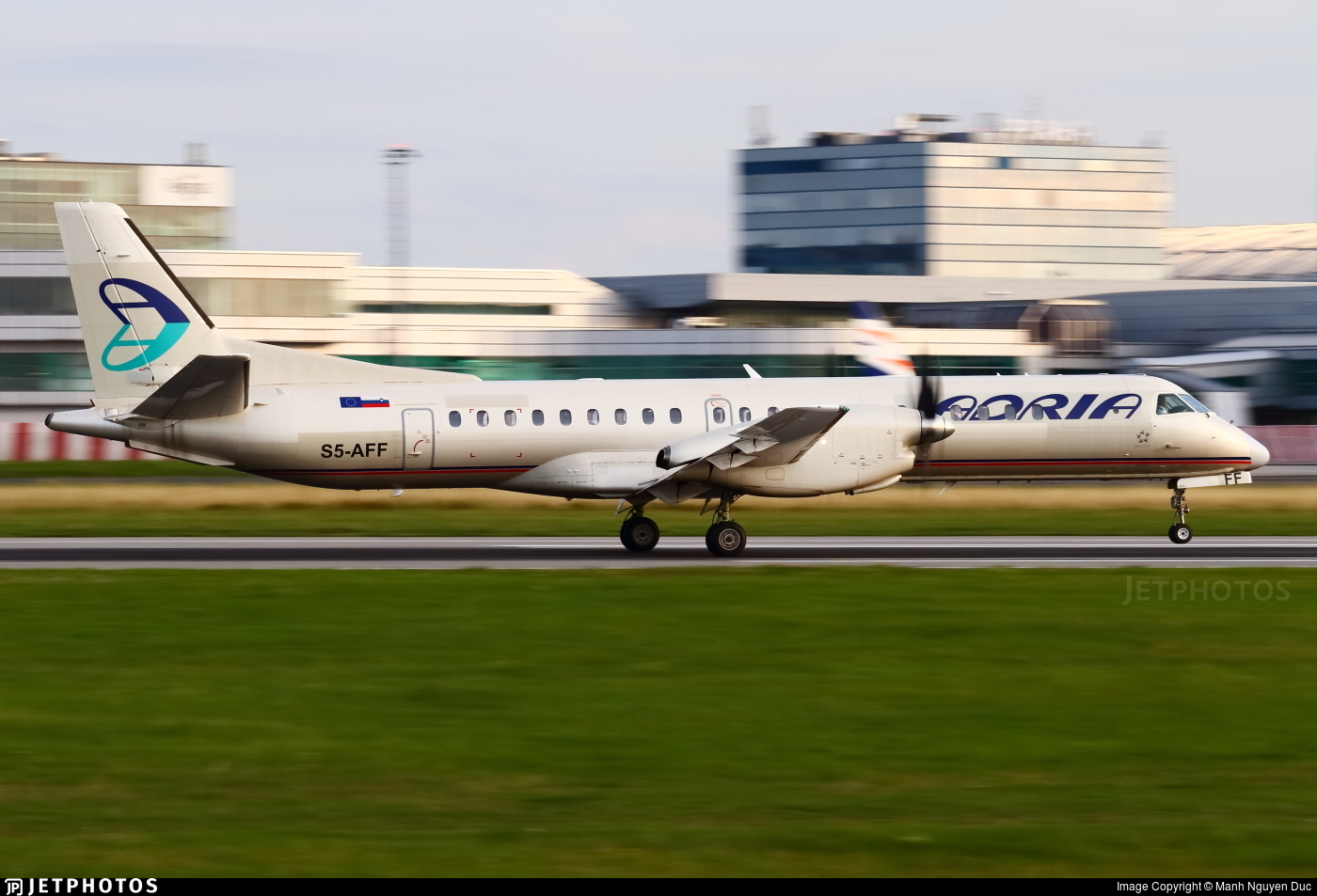 S5-AFF - Saab 2000 - Adria Airways