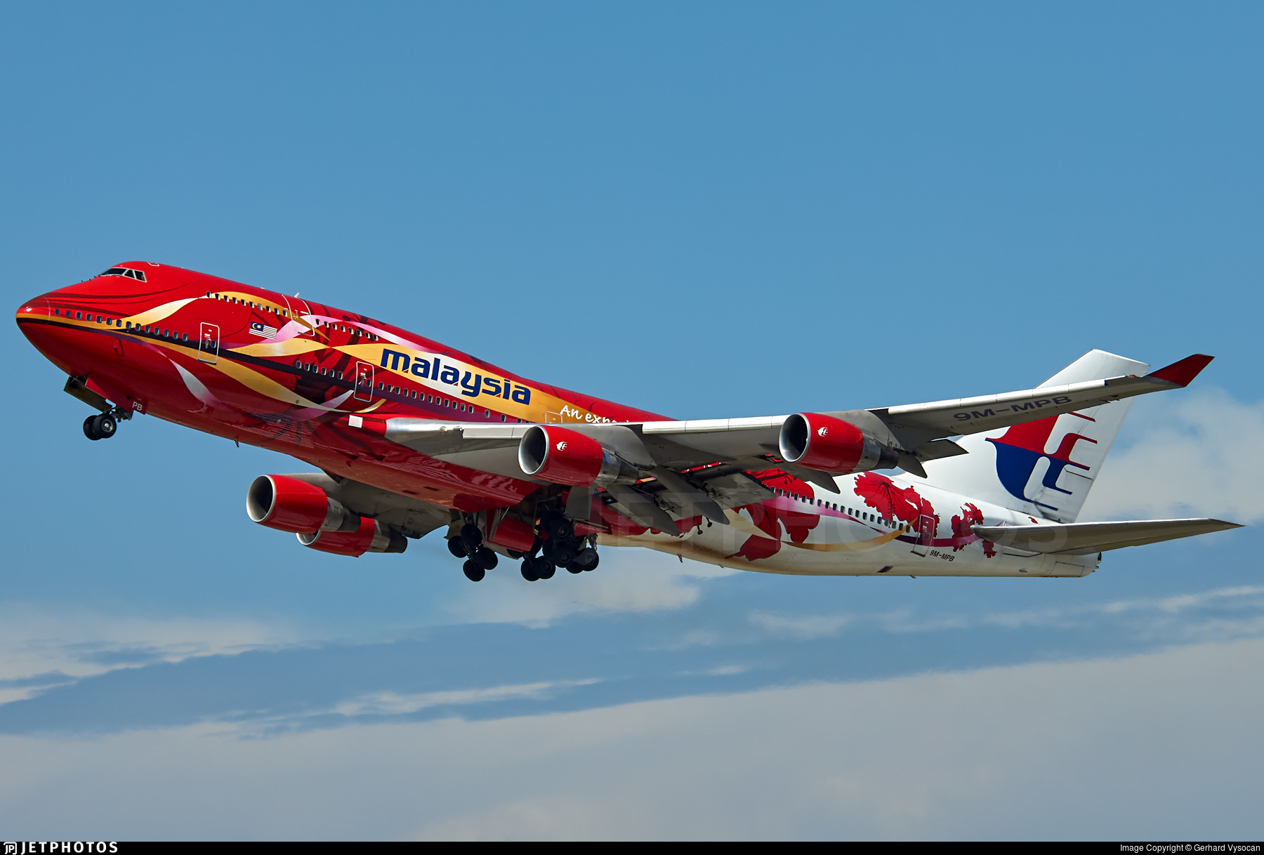 9M-MPB - Boeing 747-4H6 - Malaysia Airlines
